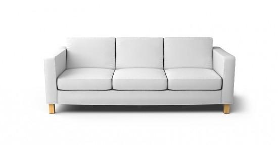 Karlanda 3 Seater Sofa Cover Beautiful Custom Slipcovers Good With Regard To Three Seater Sofas (View 3 of 20)