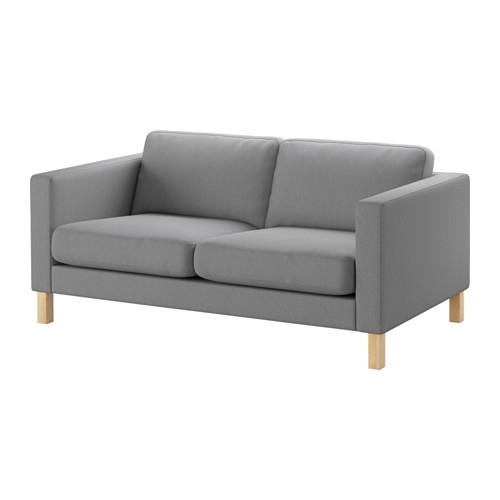 Karlstad Two Seat Sofa Ikea effectively pertaining to IKEA Two Seater Sofas (Image 10 of 20)
