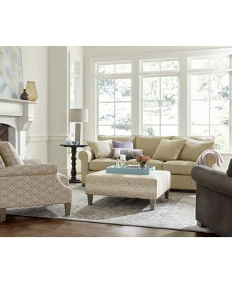 Kelly Ripa Camley Oversized Sofa Furniture Macys perfectly within Oversized Sofa Chairs (Image 11 of 20)