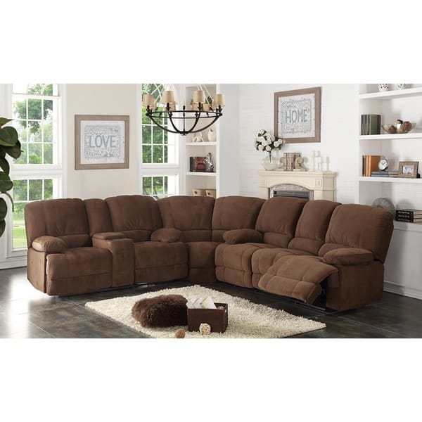 Kevin Sectional Transitional Sofa Loveseat Wedge 3 Piece Set certainly for Sofa Loveseat And Chairs (Image 15 of 20)