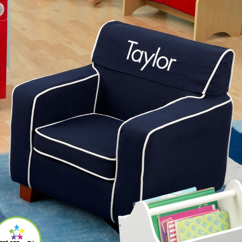 Kids Chairs Youll Love Wayfair clearly for Personalized Kids Chairs and Sofas (Image 13 of 20)