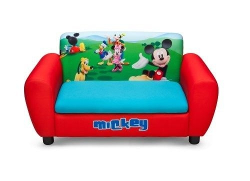 Kids Furniture Sofa Chair Disney Mickey Mouse Toddler Children good for Toddler Sofa Chairs (Image 14 of 20)
