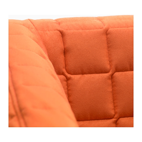 Knopparp 2 Seat Sofa Orange Ikea certainly inside Orange IKEA Sofas (Image 10 of 20)