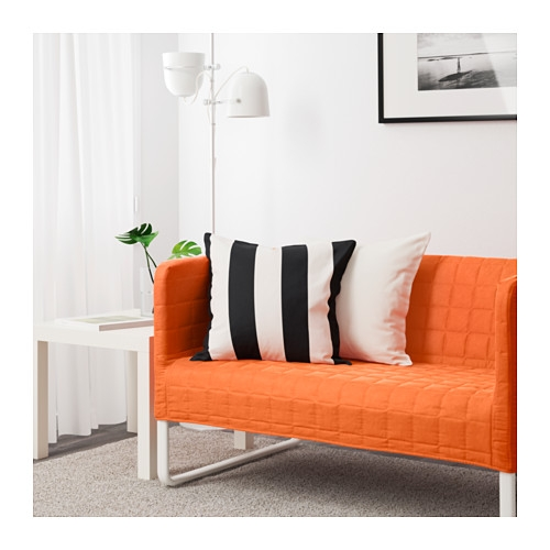Knopparp 2 Seat Sofa Orange Ikea effectively throughout Orange IKEA Sofas (Image 11 of 20)