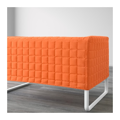 Knopparp 2 Seat Sofa Orange Ikea properly with Orange IKEA Sofas (Image 12 of 20)