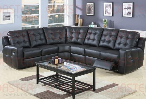 L Shaped Leather Sectional Sofa Thesofa good throughout Leather L Shaped Sectional Sofas (Image 9 of 20)
