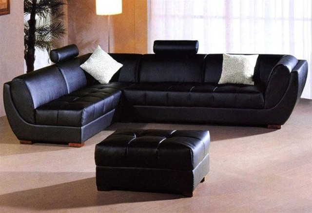 L Shaped Leather Sofa And Sectional Sofas 4 Image 3 Of 21 Auto effectively with Leather L Shaped Sectional Sofas (Image 10 of 20)