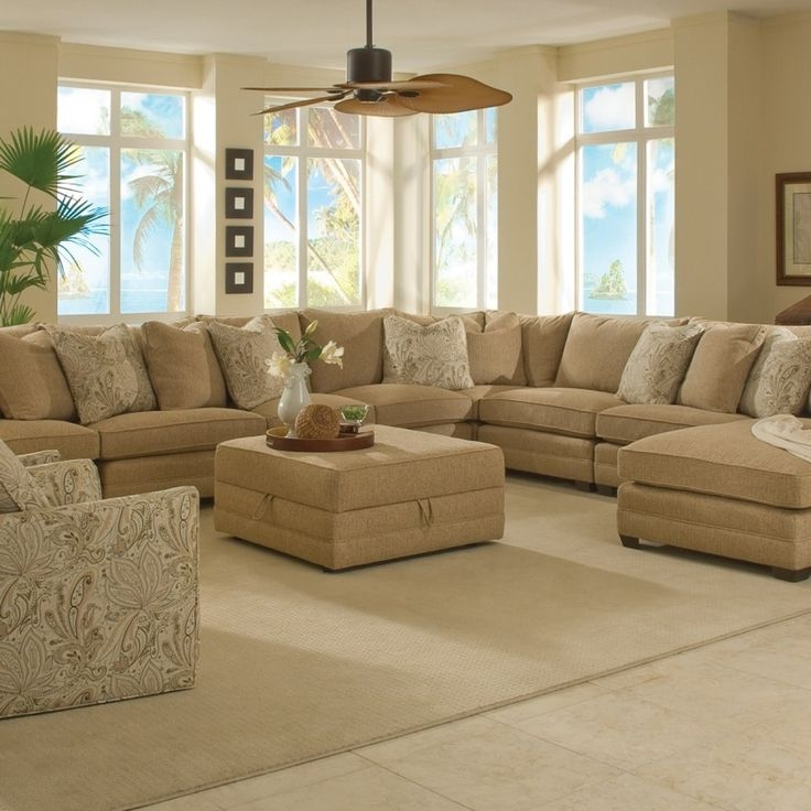 Large Living Room Sectionals Family Room Sectional White Sofa Nicely Intended For Big Sofas Sectionals (View 20 of 20)