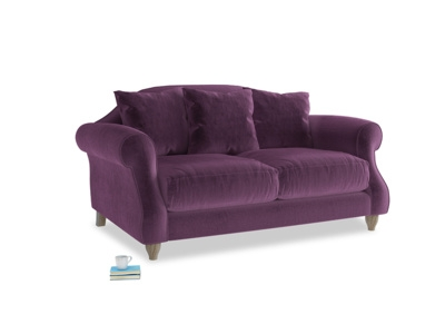 Large Purple Sofas Made In Blighty Loaf very well pertaining to Velvet Purple Sofas (Image 8 of 20)