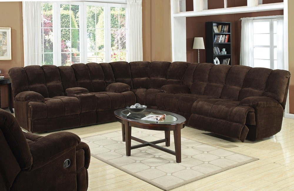 Large Sectional Sofas With Recliners Home Hold Design Reference Clearly Intended For Curved Sectional Sofa With Recliner (View 6 of 20)