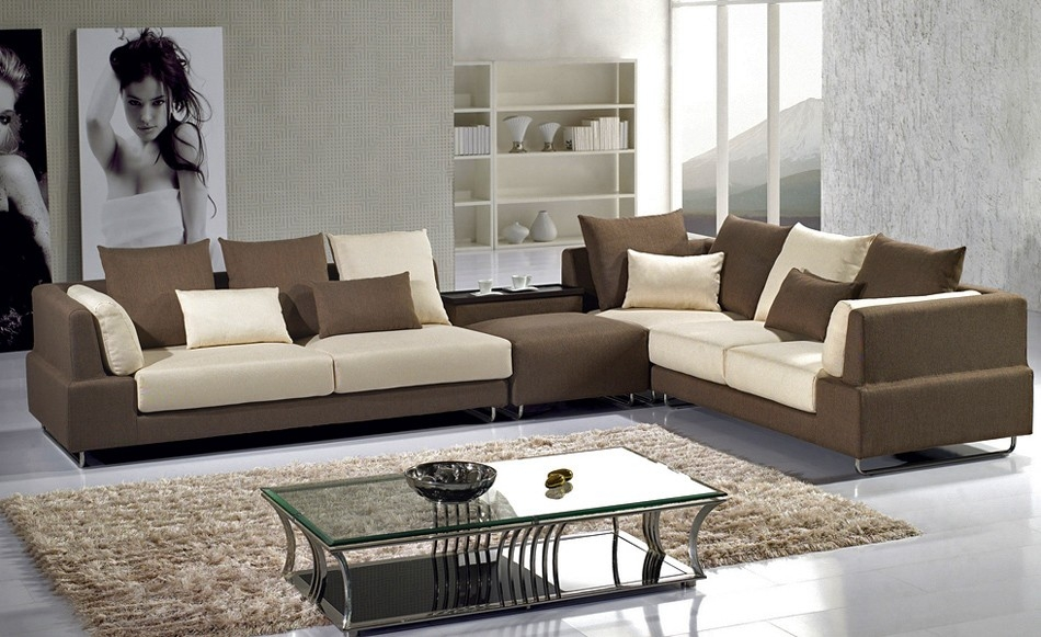 Large Two Tone Sectional Sofas 16 Interesting Two Tone Sectional effectively intended for Two Tone Sofas (Image 11 of 20)