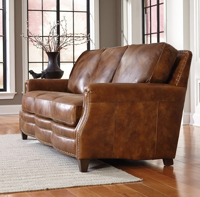 Sealy Leather Sofa: 20 Collection Of Aniline Leather Sofas