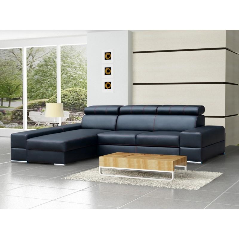 Leather Corner Sofa Bed Anzio effectively intended for Leather Corner Sofa Bed (Image 12 of 20)