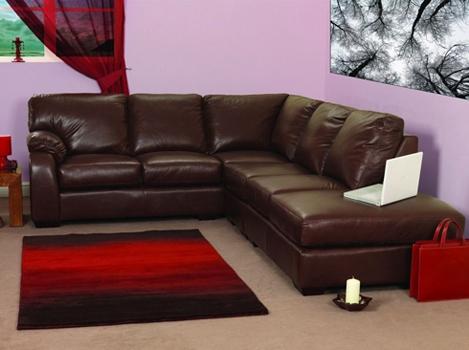 Leather Corner Sofa Bed White Regarding Leather Corner Sofa nicely regarding Corner Sofa Leather (Image 7 of 20)
