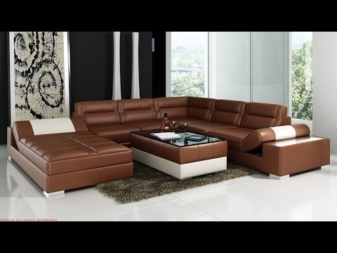 Leather Corner Sofas Corner Sofas Leather Youtube Clearly Inside Corner Sofa Leather (View 19 of 20)