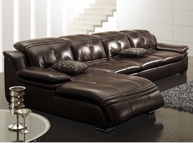 Leather Couch Sectional Sofa Captivating Real Leather Couches certainly pertaining to Leather L Shaped Sectional Sofas (Image 13 of 20)