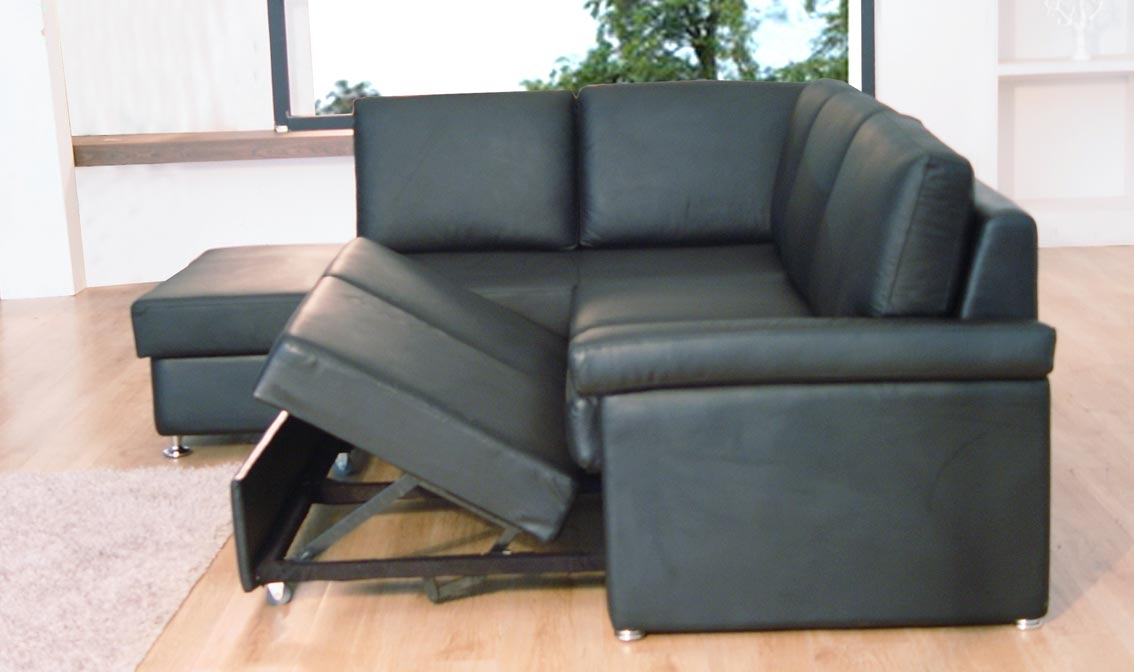 Leather Sectional Sleeper Sofa With Chaise Sofa Menzilperde nicely inside Sectional Sleeper Sofas With Chaise (Image 16 of 20)