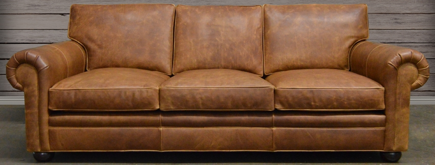 Leather Sofa Full Grain And Top Grain Leather At definitely intended for Full Grain Leather Sofas (Image 15 of 20)