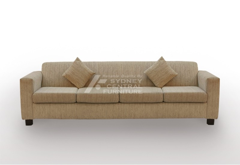 Lg Hb 4 Seater Fabric Sofa Custom Made Sydney Central Furniture Nicely In 4 Seater Sofas (View 17 of 20)