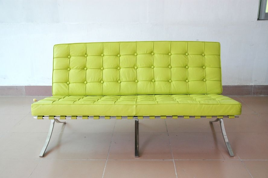 Lime Green Leather Furniture Lime Green Leather Sofa certainly inside Green Sofa Chairs (Image 18 of 20)