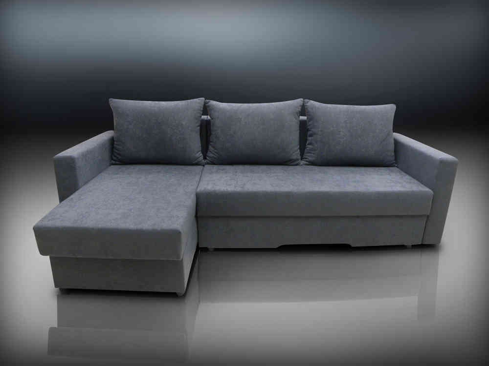 Limited Stock Corner Sofa Bed Bristol In Black Grey Or Brown perfectly with regard to Corner Sofa Bed Sale (Image 13 of 20)