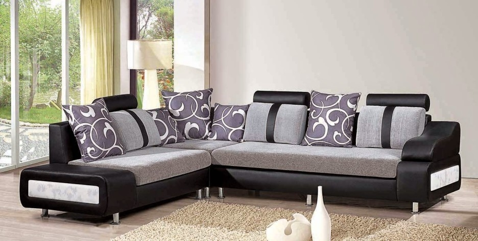 Living Room Best Living Room Furniture With L Shaped White certainly with regard to Leather L Shaped Sectional Sofas (Image 14 of 20)