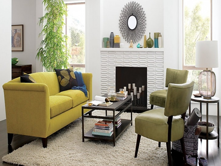 Living Room Fantastic Living Room Decorating Ideas Yellow Wall most certainly pertaining to Yellow Sofa Chairs (Image 8 of 20)