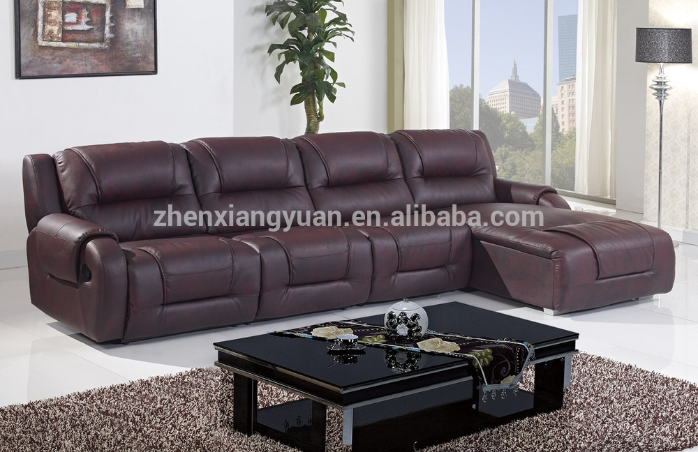 Living Room Furniture L Shape Leather Sofa Bedl Shape Sofa With Effectively Inside L Shaped Sofa Bed (View 17 of 20)