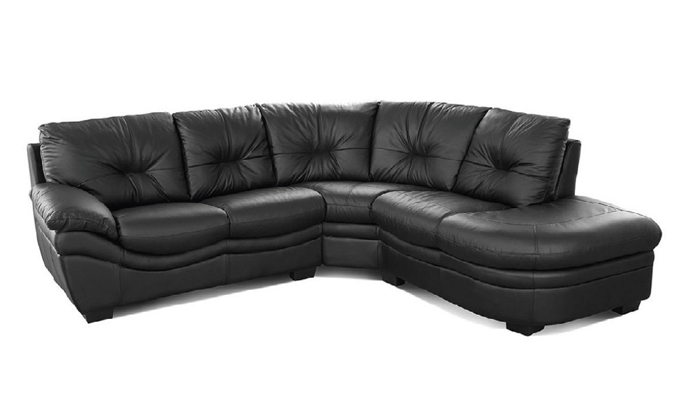 Living Room Great Nelson Grey Leather Corner Sofa Only 89999 clearly with Small Brown Leather Corner Sofas (Image 11 of 20)