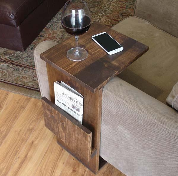 Living Room Inspiring Couch Side Table Glamorous Couch Side very well with Sofa Side Tables With Storages (Image 14 of 20)