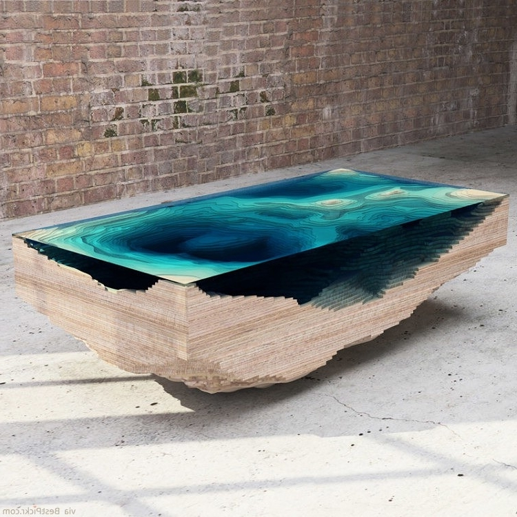 Best 30+ of Unusual Glass Top Coffee Tables