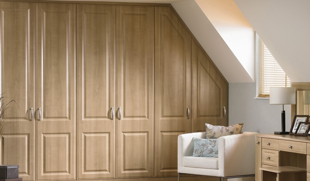 Loft Bedroom Fitted Wardrobes Design Ideas 2017 2018 Pinterest good with Solid Wood Fitted Wardrobe Doors (Image 23 of 30)