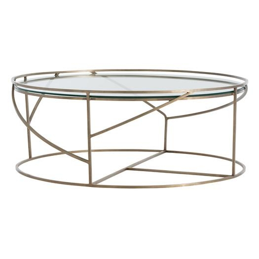 London Brass Coffee Table certainly throughout Floating Glass Coffee Tables (Image 11 of 20)