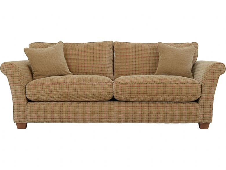 Louisa 4 Seater Casual Fabric Sofa Lee Longlands perfectly with regard to Tweed Fabric Sofas (Image 16 of 20)
