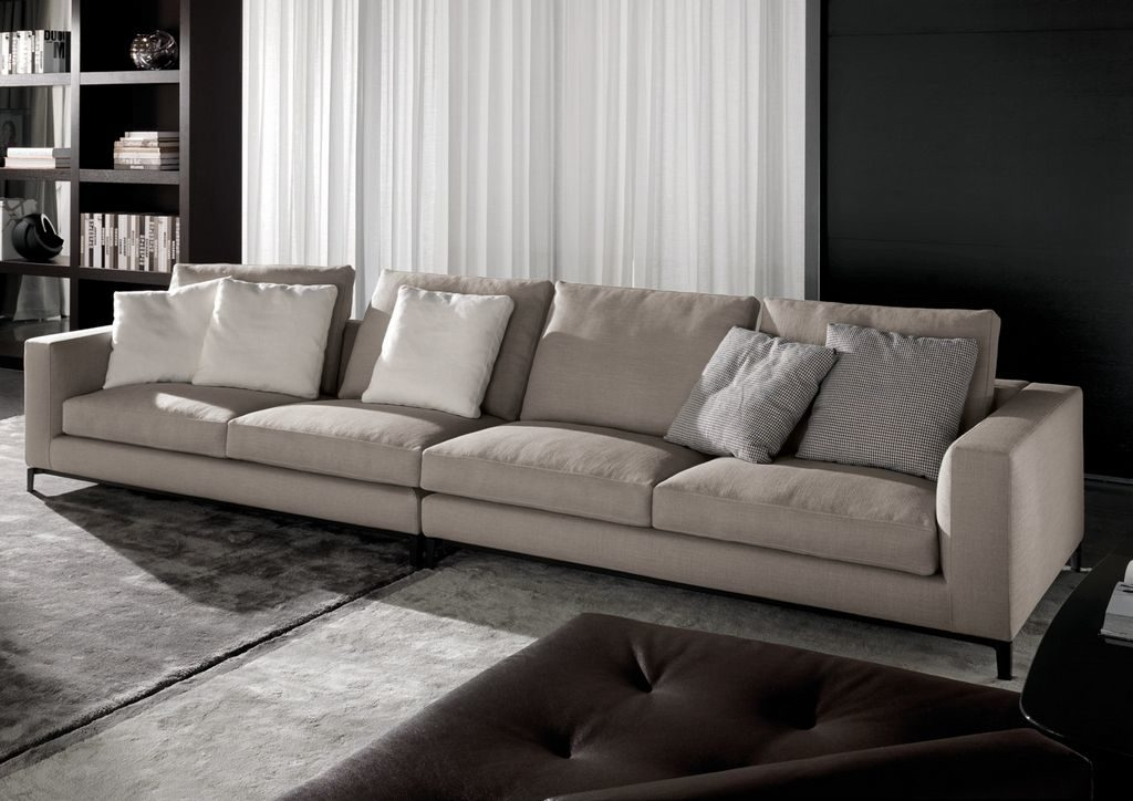 Lovely Extra Long Leather Sofa 51 Sofas And Couches Ideas With nicely pertaining to Long Modern Sofas (Image 16 of 20)