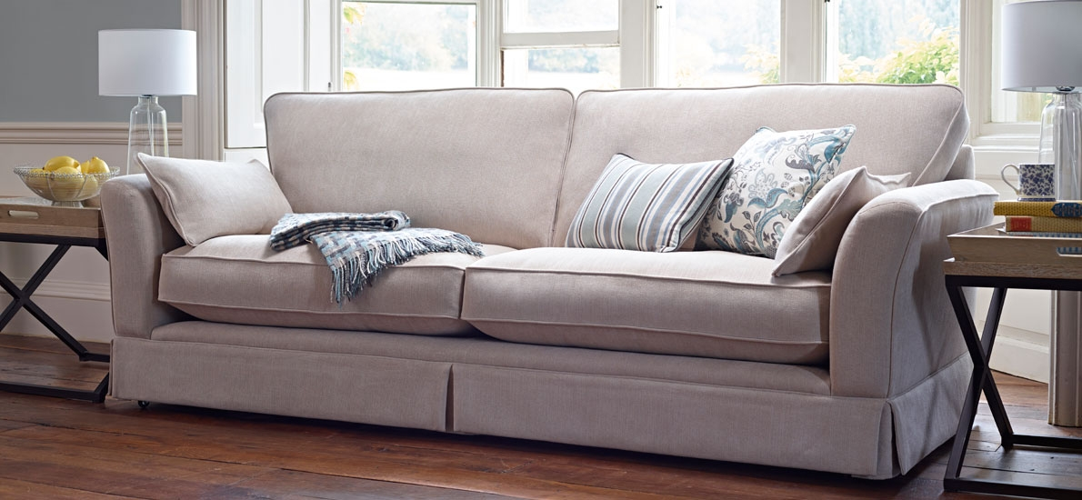 Ludlow 4 Seater Sofa Sofasofa Official Most Certainly Regarding 4 Seater Sofas (View 17 of 20)