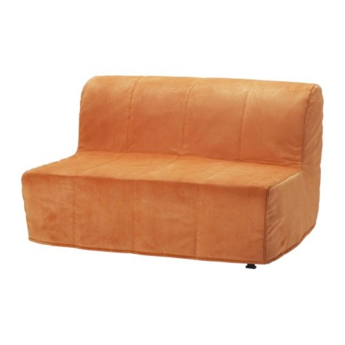 Lycksele Lvs Sofa Bed Henn Orange Ikea To Replace The Bed nicely in Orange IKEA Sofas (Image 14 of 20)