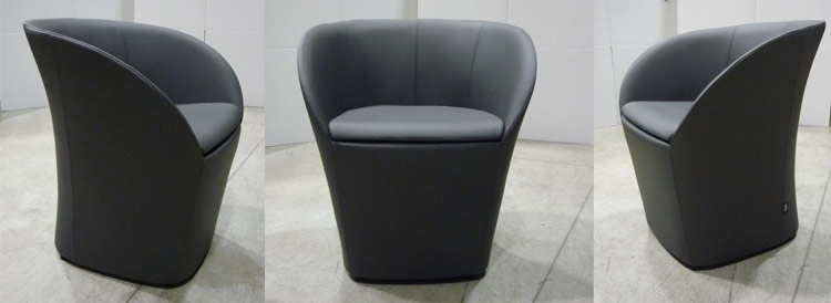 Maddy Contemporary Italian Designer Tub Chairs For Reception Areas nicely with regard to Compact Armchairs (Image 14 of 20)