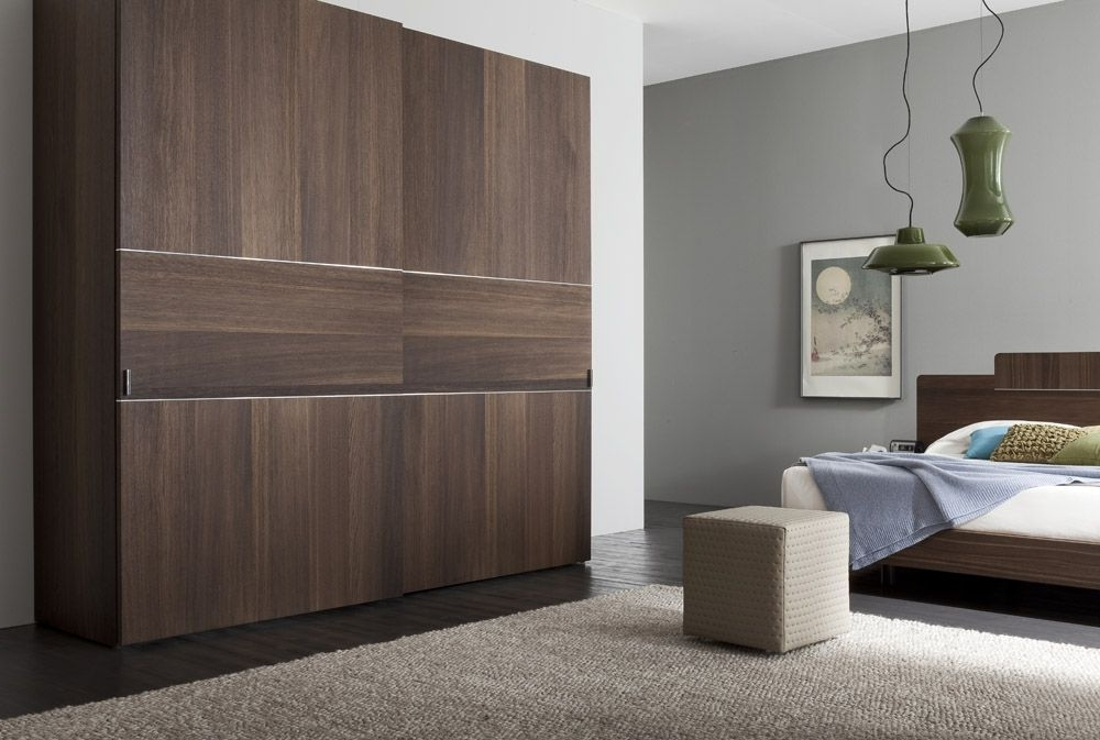 Made In Italy Wood High End Contemporary Furniture Houston Texas clearly for Solid Dark Wood Wardrobes (Image 21 of 30)