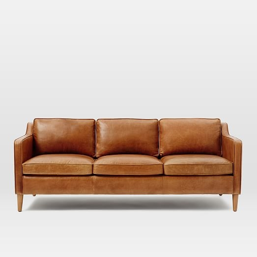 Magnificent Light Tan Leather Sofa Hamilton Leather Sofa 81 West well intended for Light Tan Leather Sofas (Image 11 of 20)