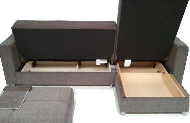 Malaga Luxury Corner Sofa Bed Sofabed L Shaped With Storage Very Well With Regard To Storage Sofa Beds (View 9 of 20)