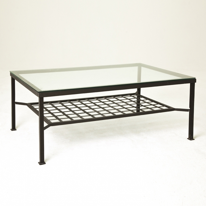 Marble Top Coffee Table On Glass Coffee Table For Best Metal And effectively regarding Metal And Glass Coffee Tables (Image 12 of 20)