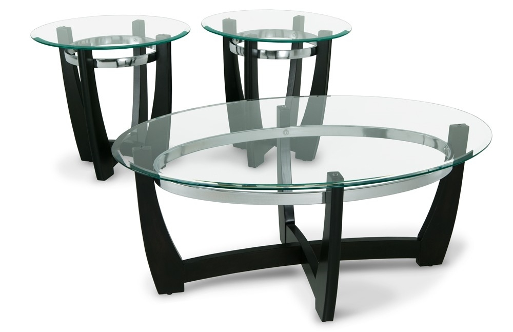 Matinee Coffee Table Set Bobs Discount Furniture good intended for Sofa Table Chairs (Image 11 of 20)