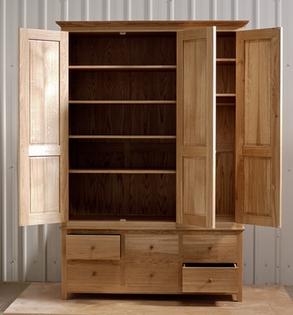 Matthew Wawman Cabinet Maker Bespoke Kitchen Maker And Designer certainly with Wardrobes With Shelves And Drawers (Image 10 of 20)