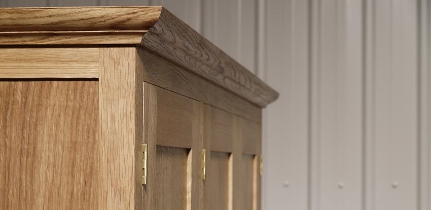 Matthew Wawman Cabinet Maker Bespoke Kitchen Maker And Designer clearly inside Oak Wardrobe With Drawers And Shelves (Image 24 of 30)