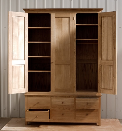 Matthew Wawman Cabinet Maker Bespoke Kitchen Maker And Designer properly regarding Wardrobes With Shelves and Drawers (Image 16 of 20)