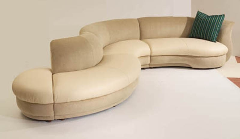Maximizing The Use Of Curved Sectional Sofa Oaksenham Very Well In Circle Sectional Sofa (View 14 of 20)