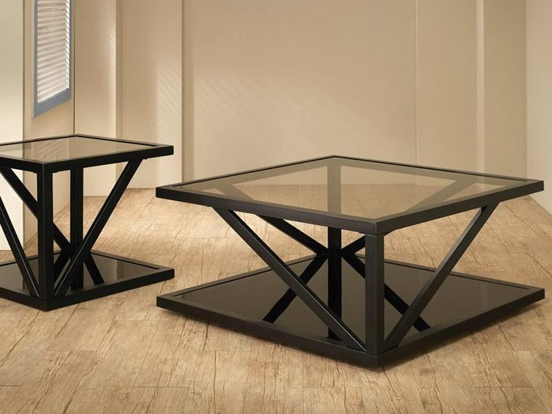 Metal Coffee Tables well for Metal Square Coffee Tables (Image 12 of 20)
