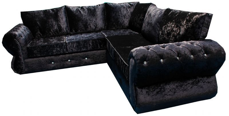 Metro Sofa Ltd Furniture Maker In Heywood Uk properly in Black Velvet Sofas (Image 12 of 20)