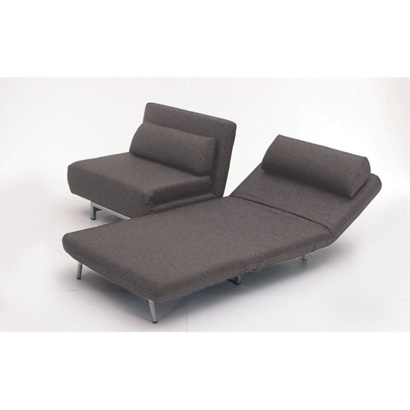 Mobital Iso Double Sofa Bed With 2 Single Swivel Chairs In very well throughout Sofa Bed Chairs (Image 8 of 20)